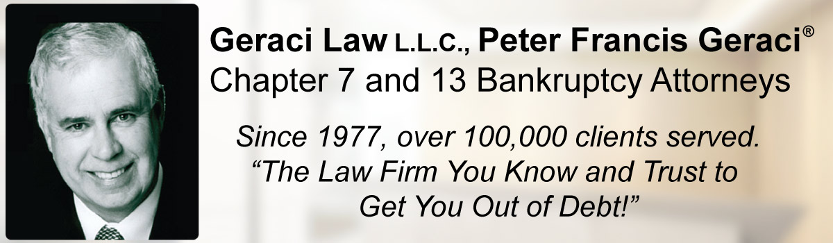 Peter Francis Geraci Law Bankruptcy Attorneys